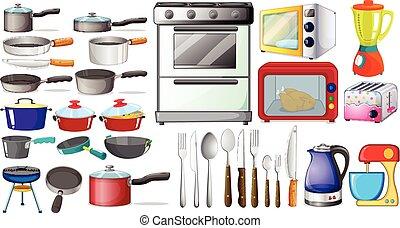 Kitchen objects