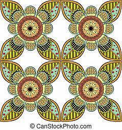 Lace Endless Seamless Pattern