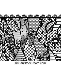 Lacy vintage background. Vector illustration.