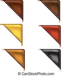 Leather Corner Ribbon