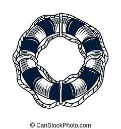 lifebuoy nautical maritime