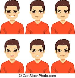 Man Expressions Collection