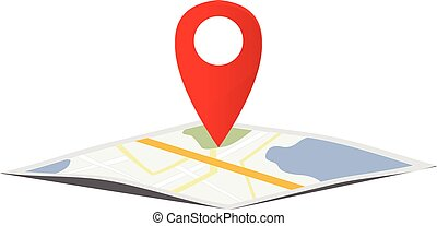 Map navigation pointer