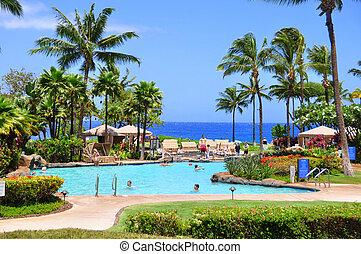 Maui beach resort