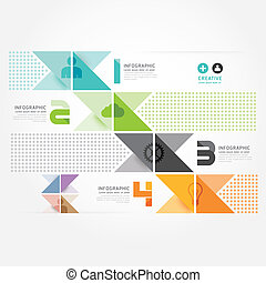 Modern Design Minimal style infographic template. can be used for infographics .graphic or website layout vector