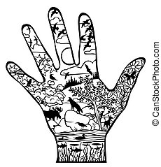 Natural world in our hand