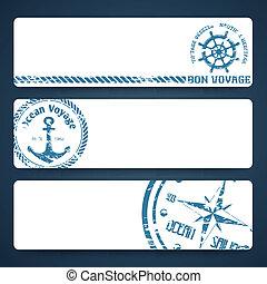 Nautical banners