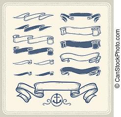 Nautical ribbons
