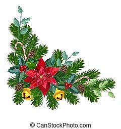 Christmas decorative corner