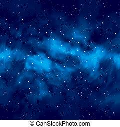 Night sky with stars