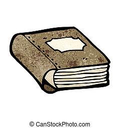 old book cartoon