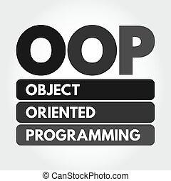 OOP - Object Oriented Programming acronym