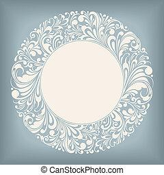 Ornament Circle Label
