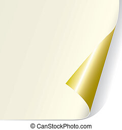 Page Curl (vector)