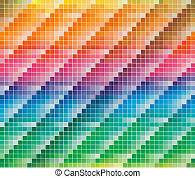 Pantone CMYK colours palette for Abstract Background