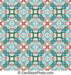 Pattern in Christmas style