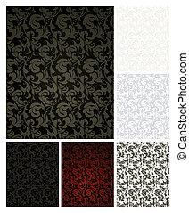 Pattern seamless, set