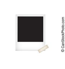 photo vector illustration template