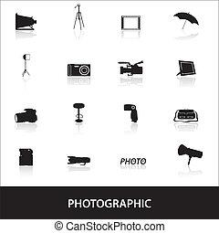 photographic icons eps10