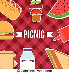picnic food image
