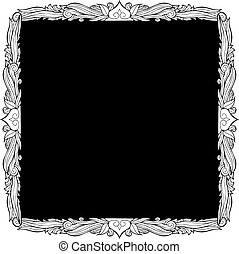 Picture frame drawing
