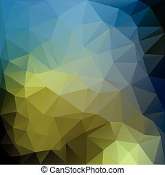 Poligonal vector illustration of colored abstract background.