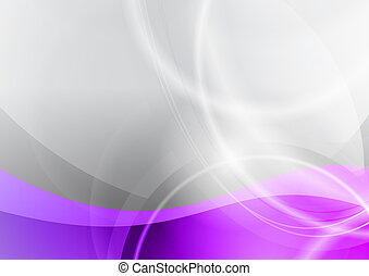 purple and grey wave abstract background