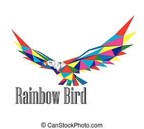 Rainbow Bird Logo