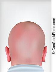 Realistic Bald Head