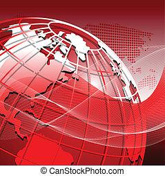 red globe