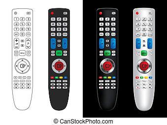Remote Control - Vector Illustration