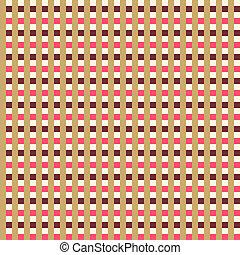Retro seamless striped pattern.