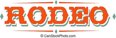 Rodeo Sign Clip Art