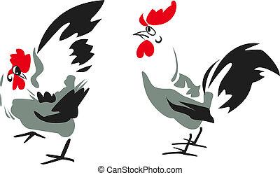rooster design