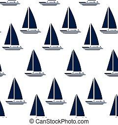 sailboat maritime frame icon