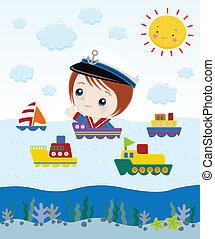 sailor cartoon