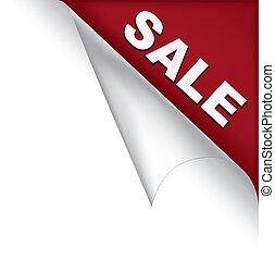 Sale page corner