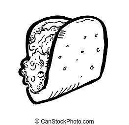 sandwich doodle