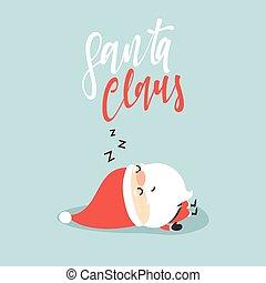 Santa Claus collection of Christmas.
