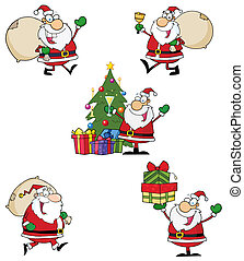Santa Claus Style Characters