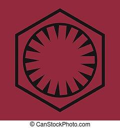 Sci-Fi Comics Book Symbol