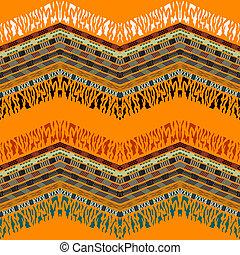 Seamless abstract geometric pattern. Vector illustration