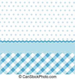 seamless baby blue pattern