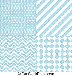 seamless baby boy blue pattern