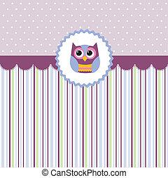 Seamless baby pattern, wallpaper