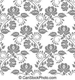 lace floral pattern