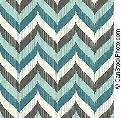 seamless braid chevron pattern