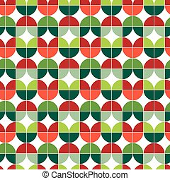 Seamless Christmas gift wrapping paper pattern.