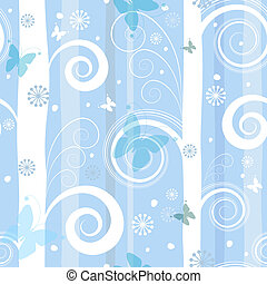 Seamless fantastic christmas pattern (vector)