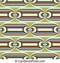 groovy horizontal pattern